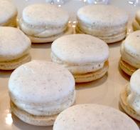 macarons vanilla 182