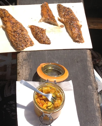 Cuisine karen small group tours to normandy brittany - Cuisine corsaire cancale ...