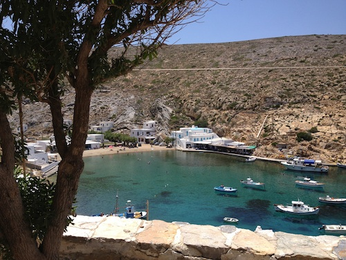 fishing village of Heronissos