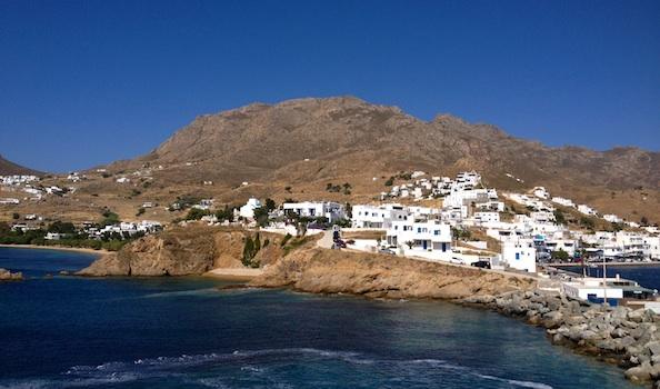cycladic island
