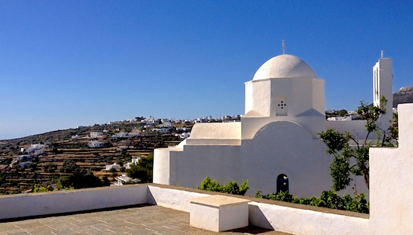 sifnos white church