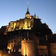 The marvel of the Mont St. Michel Abbey