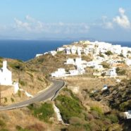 The village of Kastro ~ ancient capital of Sifnos